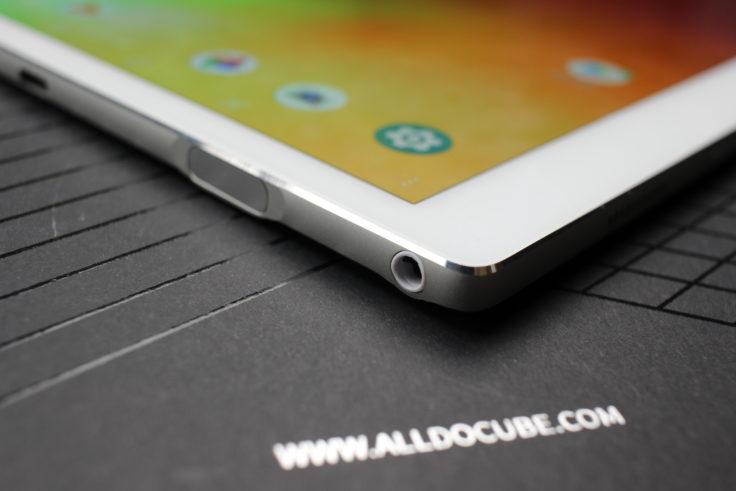 ALLDOCUBE X Tablet Kopfhöreranschluss