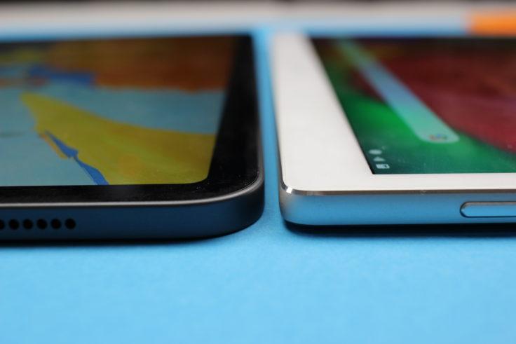 ALLDOCUBE X Verarbeitung Dicke Vergleich iPad