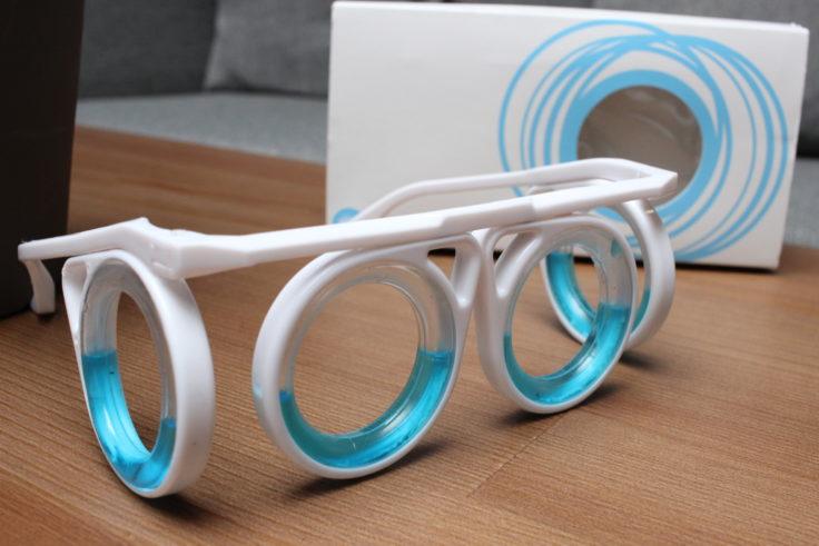 Brille gegen Reiseübelkeit