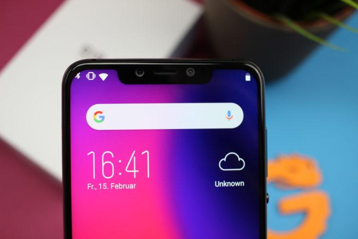 Elephone A5 Notch Fail