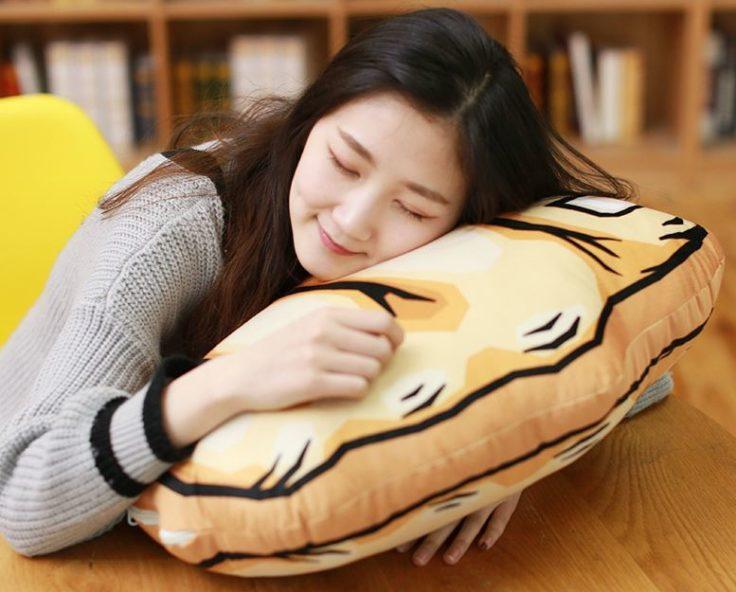 Gesten-Kissen Schlaf