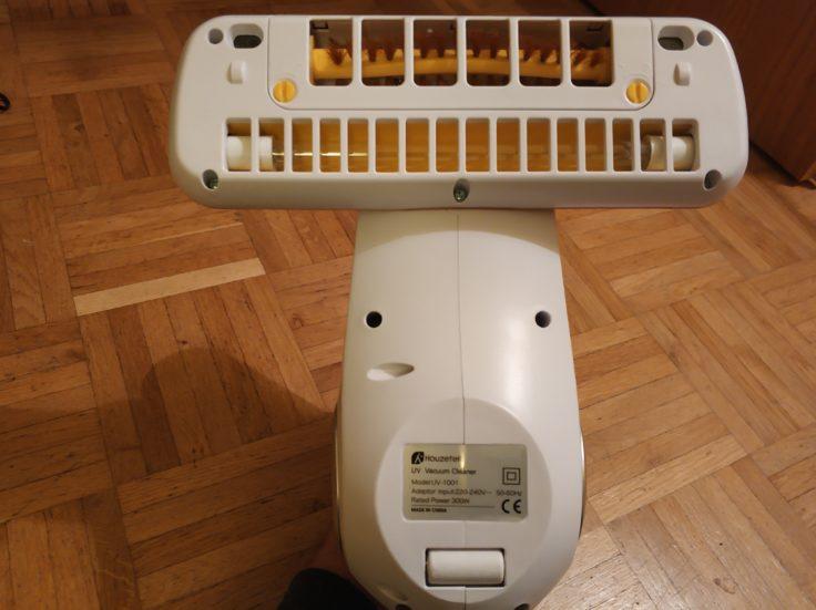 Houzetek UV-1001 Milben-Handsauger Rückseite