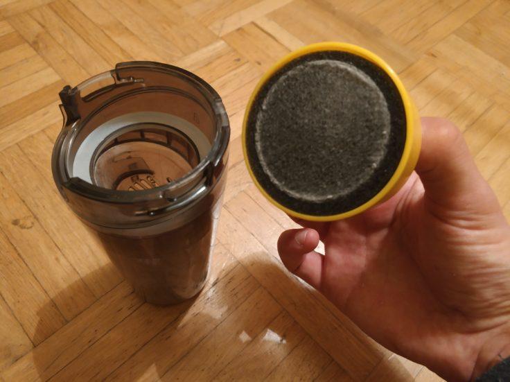 Houzetek UV-1001 Milben-Handsauger Schwammfilter