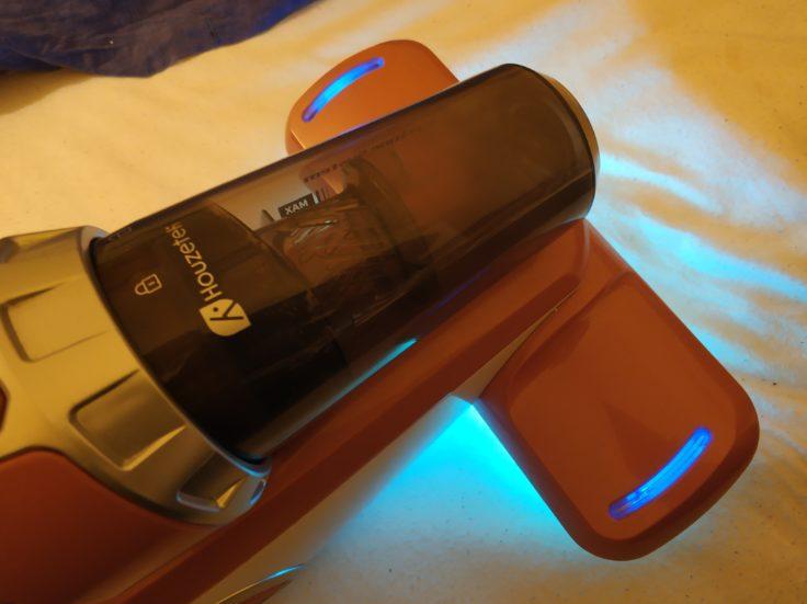 Houzetek UV-1001 Milben-Handsauger UV-LIcht Performance