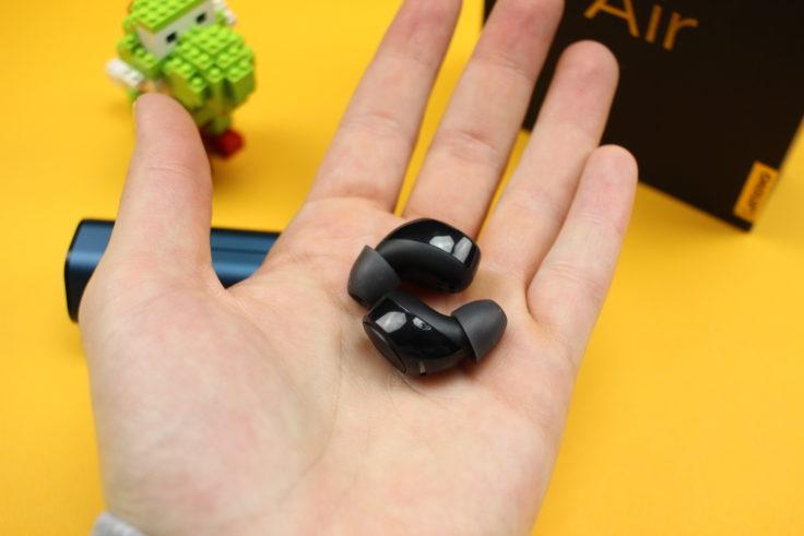 lenovo air kopfh rer im test true wireless in ear mit. Black Bedroom Furniture Sets. Home Design Ideas