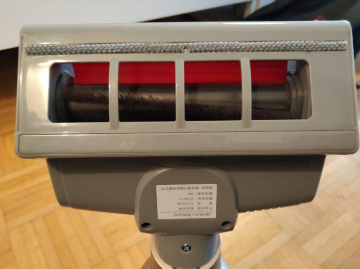 Lexy Jimmy JV71 Akkustaubsauger Milbenaufsatz Unterseite