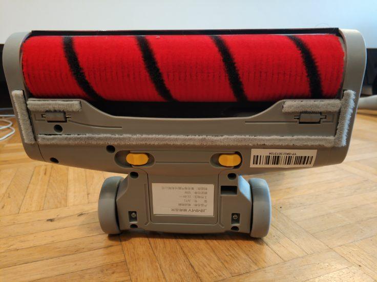 Lexy Jimmy JV71 Akkustaubsauger Walze Design