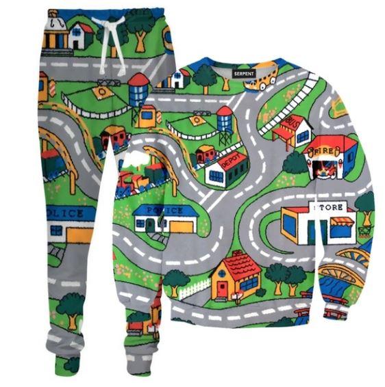 Spielzeug-Straße Teppich Mode