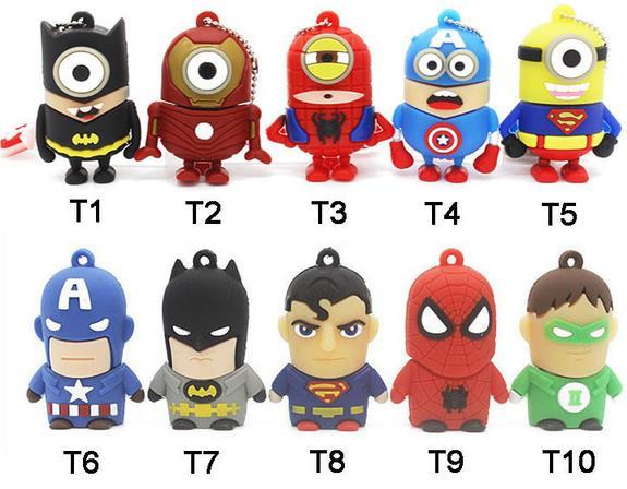 Superhelden USB-Sticks