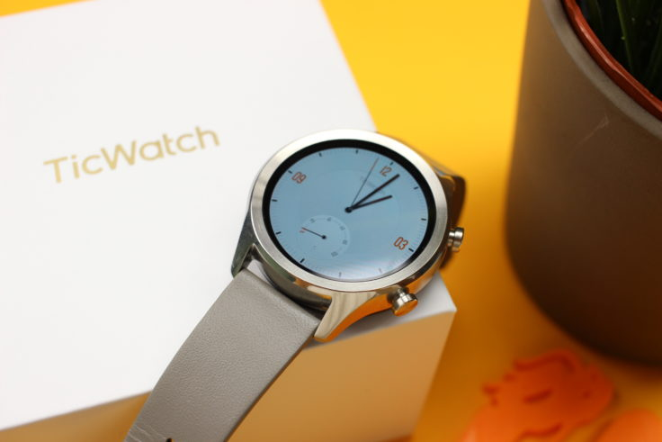 Ticwatch C2 Smartwatch Edelstahlgehäuse