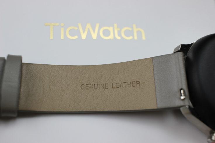 Ticwatch C2 Smartwatch Lederarmband