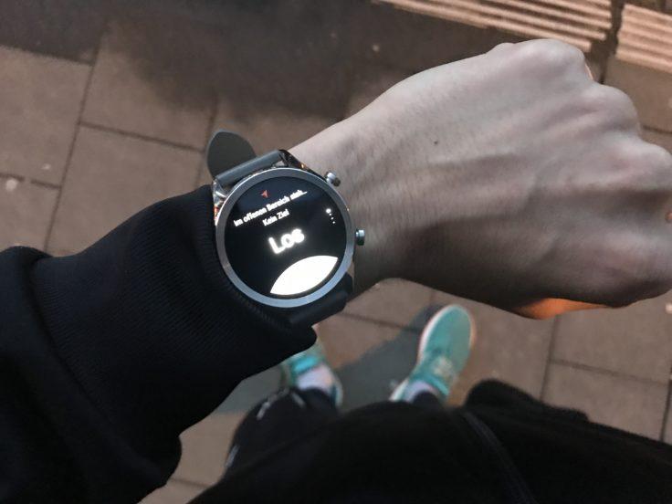 Ticwatch C2 Sport Joggen