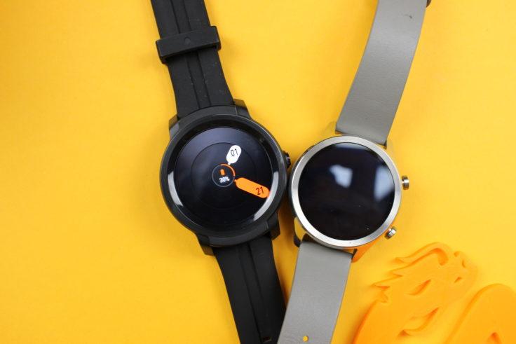 Ticwatch C2 Vergleich Ticwatch S2