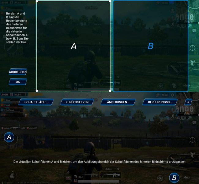 Vivo NEX Dual Display virtuelle Tasten Gaming