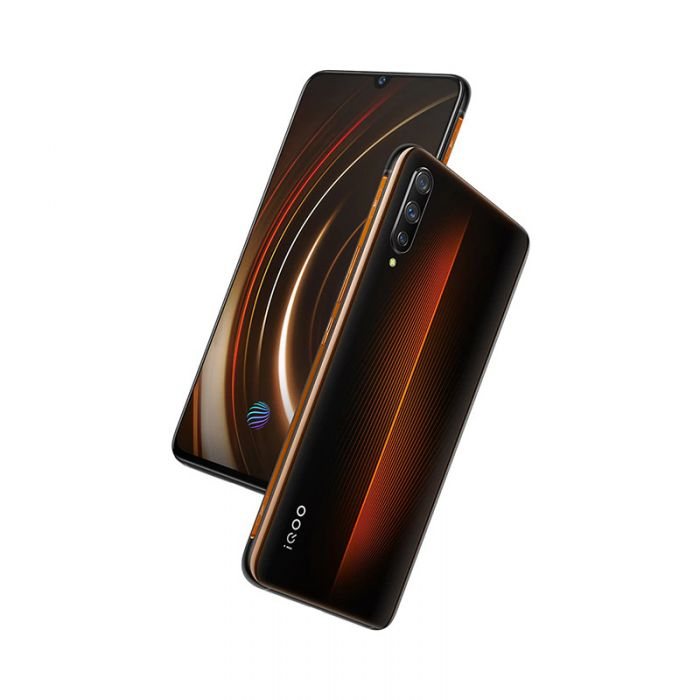 Vivo iQOO Smartphone Orange