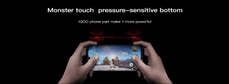 Vivo iQOO Touch Buttons
