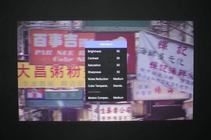 XGIMI H2 Beamer Android Einstellungen