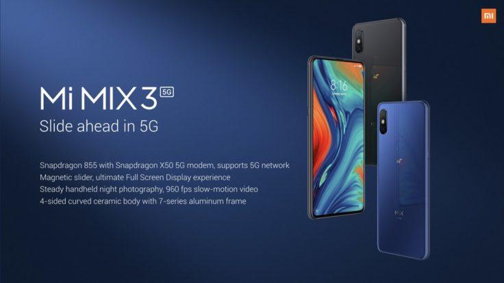 XIaomi Mi Mix 3 5G Farben