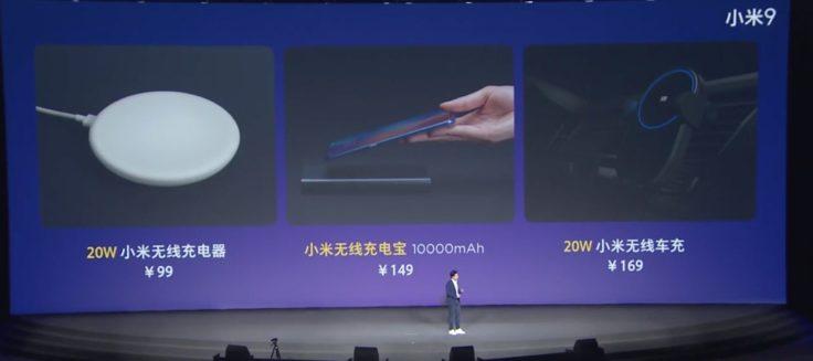 Xiaomi Mi 9 Kabelloses Zubehör