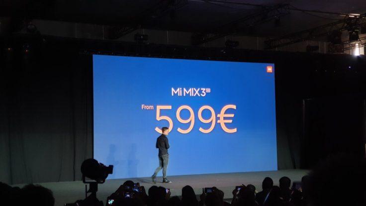 Xiaomi Mi Mix 3 5G Preis