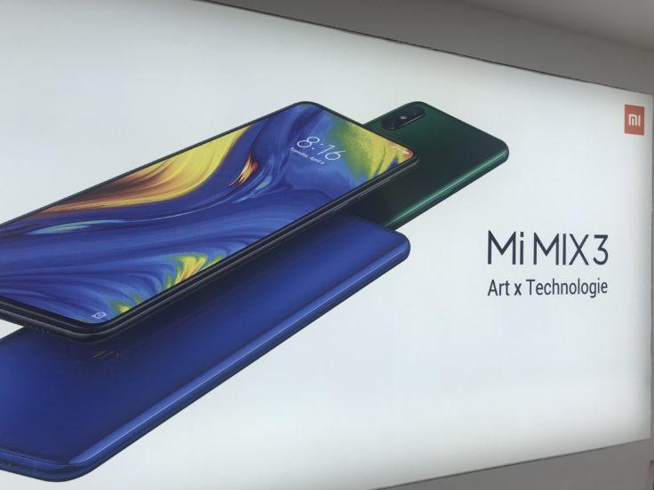 Xiaomi Mi Mix 3 Werbung Xiaomi Store