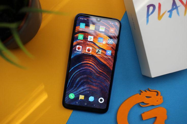 Xiaomi Mi Play Smartphone oben