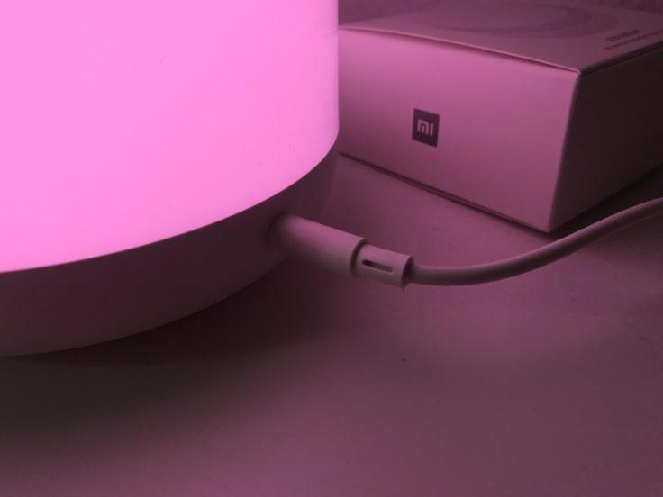 Xiaomi Mijia Nachttischlampe 2 Stromanschluss