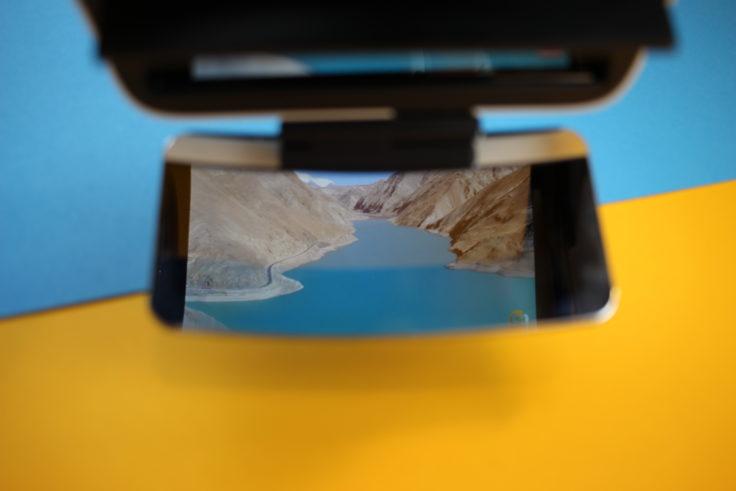 Ximmerse Visor X Smartphone Brille Spiegelung (2)