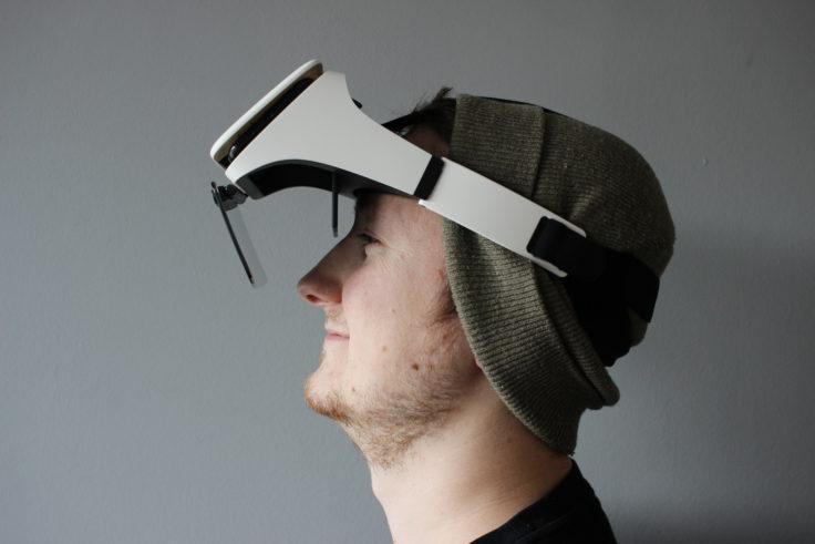 Ximmerse Visor X Smartphone Brille Tragekomfort