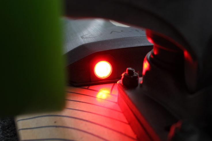 ACTON X1 E-Skateboard Licht