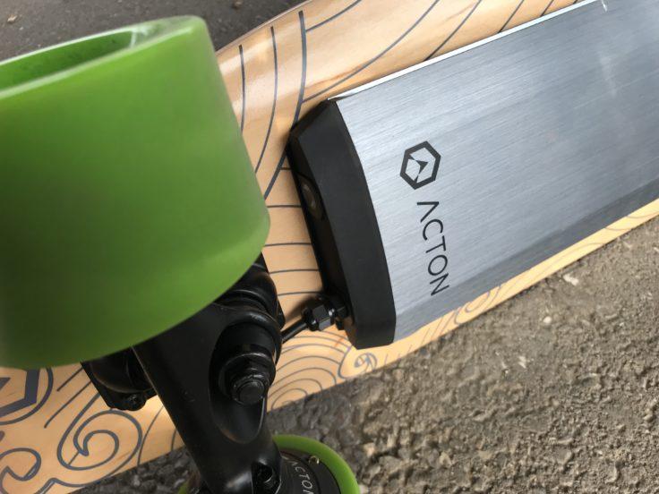 ACTON X1 Skateboard Akku