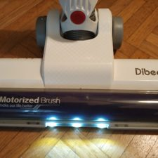 Dibea DW200 Pro Akkustaubsauger LED-Lichter Performance