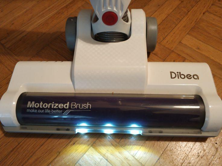 Dibea DW200 Pro Akkustaubsauger LED-Lichter Performance