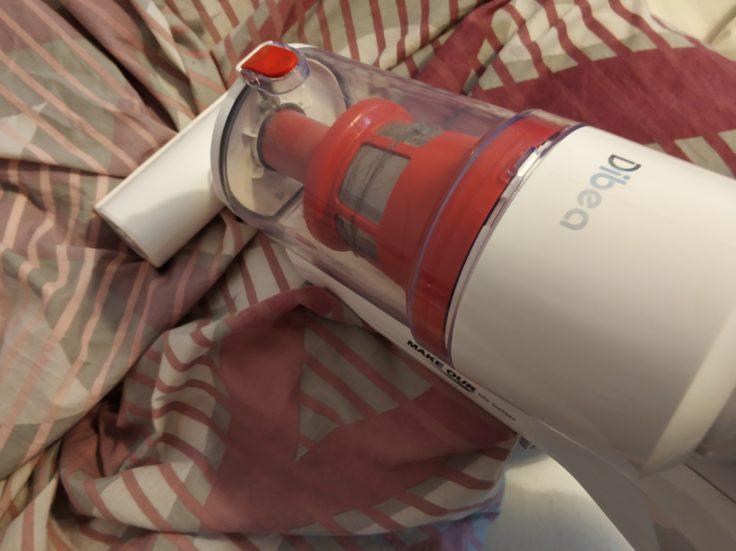 Dibea DW200 Pro Akkustaubsauger Milbensauger Textilien