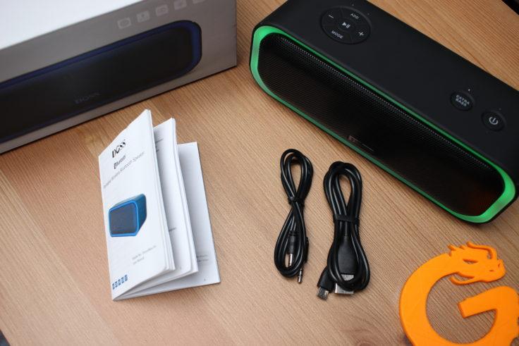 Doss Soundbox Pro Lieferumfang