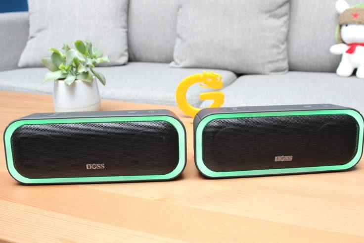 Doss Soundbox Pro Stereo Modus