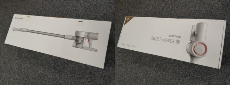Dreame V9 Akkustaubsauger Verpackung