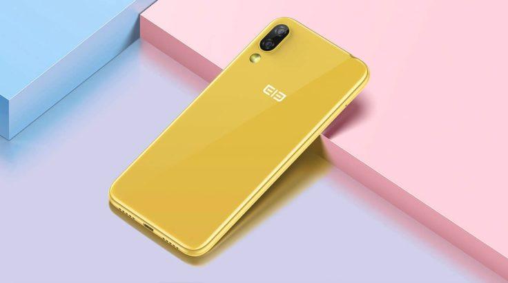 Elephone A6 Mini Gelb