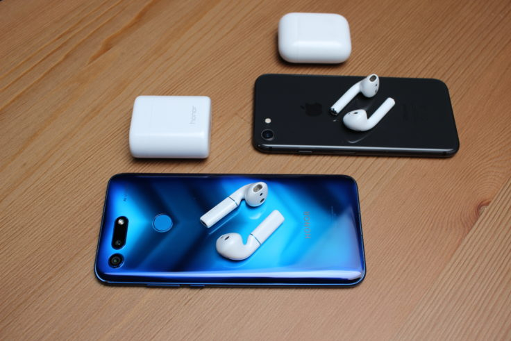 Honor FlyPods und Apple AirPods
