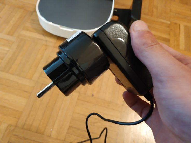 Minsu NV-01 Saugroboter Aufsatz Ladekabel EU-Adapter
