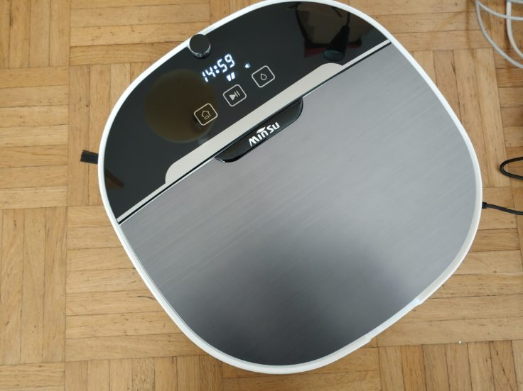 Minsu NV-01 Saugroboter Maße