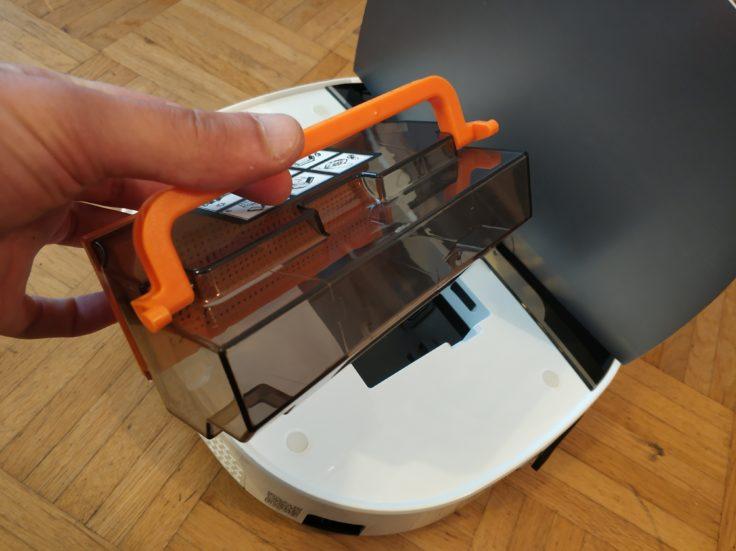 Minsu NV-01 Saugroboter Staubkammer