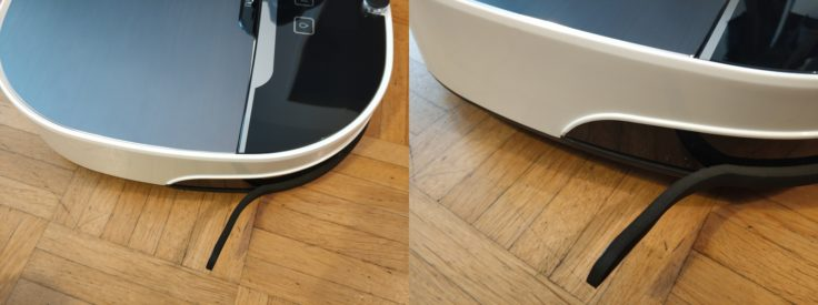 Minsu NV-01 Saugroboter Verarbeitungsfehler