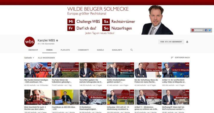 Solmecke YouTube Kanal