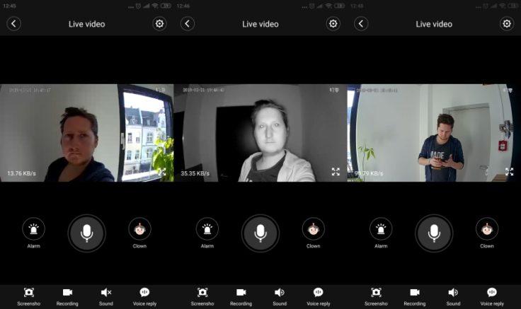 XIaomi Dingling Klingel App Screenshots 2