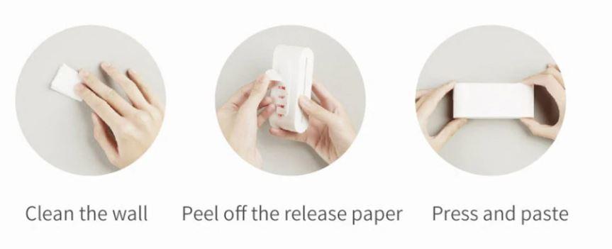 Xiaomi Badezimmer-Set Anbringung
