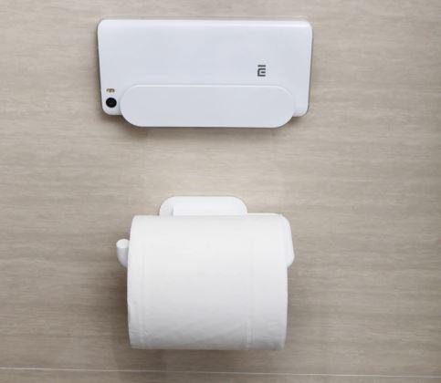 Xiaomi Badezimmer-Set Handy-und Toilettenpapier-Halterung
