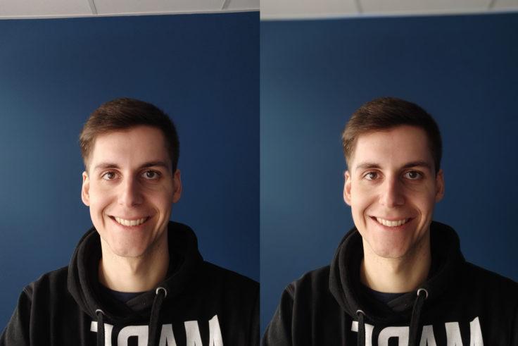 Xiaomi Mi 9 Frontkamera Testfoto Portrait Vergleich