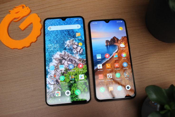 Xiaomi Mi 9 SE Vergleich Mi 9