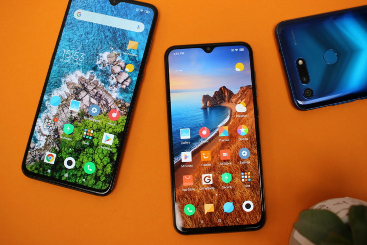 Xiaomi Mi 9 SE Vergleich Mi 9 Honor View 20